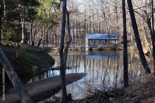 Grist Mill by the water Fototapet