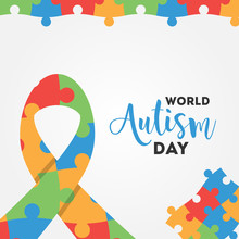 World Autism Day Vector Design...
