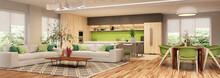 Modern House Interior Kitchen ...