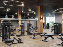 Modern Gym Interior With Sport...