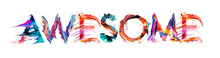 AWESOME Banner With Colorful B...
