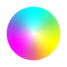 Color Wheel Palette. RGB, RYB,...
