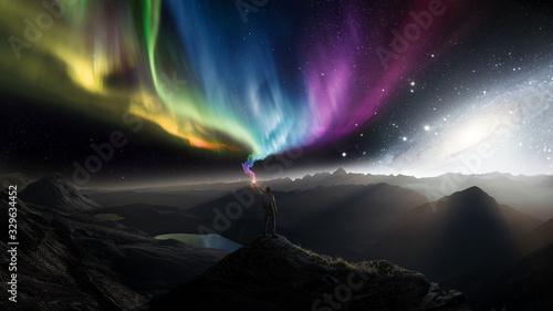 Univers Of Colors Canvas Print