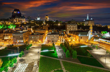 Panorama Of Quebec City  With ...