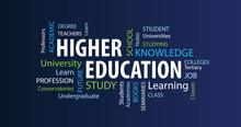 HIgher Education Word Cloud
