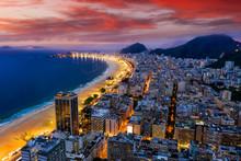 Panorama Of Rio De Janeiro At ...