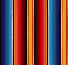 Blanket Stripes Seamless Vecto...