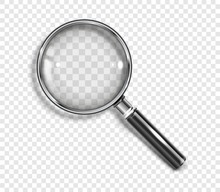 Realistic Magnifying Glass Wit...
