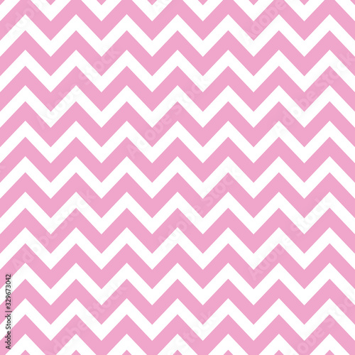 Photo Pink chevron seamless pattern vector background