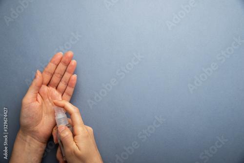 Fotomural Protective medicine antiseptic gel sanitizer
