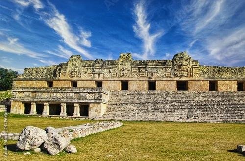 Photo Architecture dabs le Yucatan au Mexique