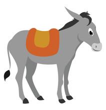 Happpy Donkey, Illustration, V...