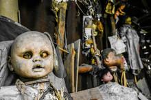 Creepy Old Dolls In The Abando...