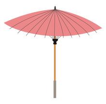 Chinese Umbrella, Illustration...