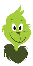 Green Grinch, Illustration, Ve...