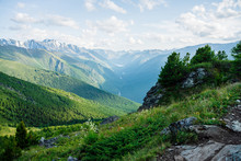Beautiful Alpine Landscape Wit...