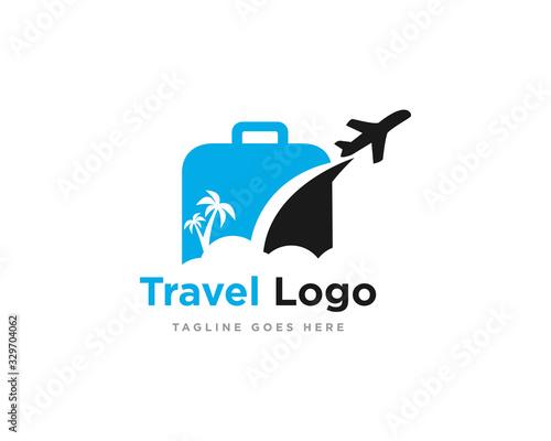 Travel Logo Icon Design Vector Fototapete