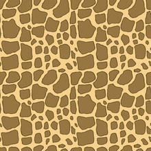 Giraffe Skin Hand Drawn Pen Te...