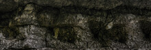 Texture Big Smooth Rocks Wall