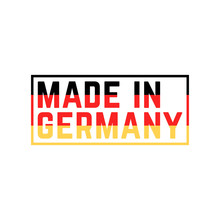 Colored Made In Germany Icon
