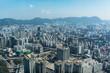 Blick vom Sky100 auf Hongkong.