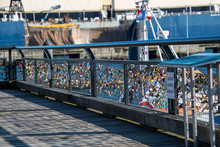 A Picture Of Many Love Padlock...