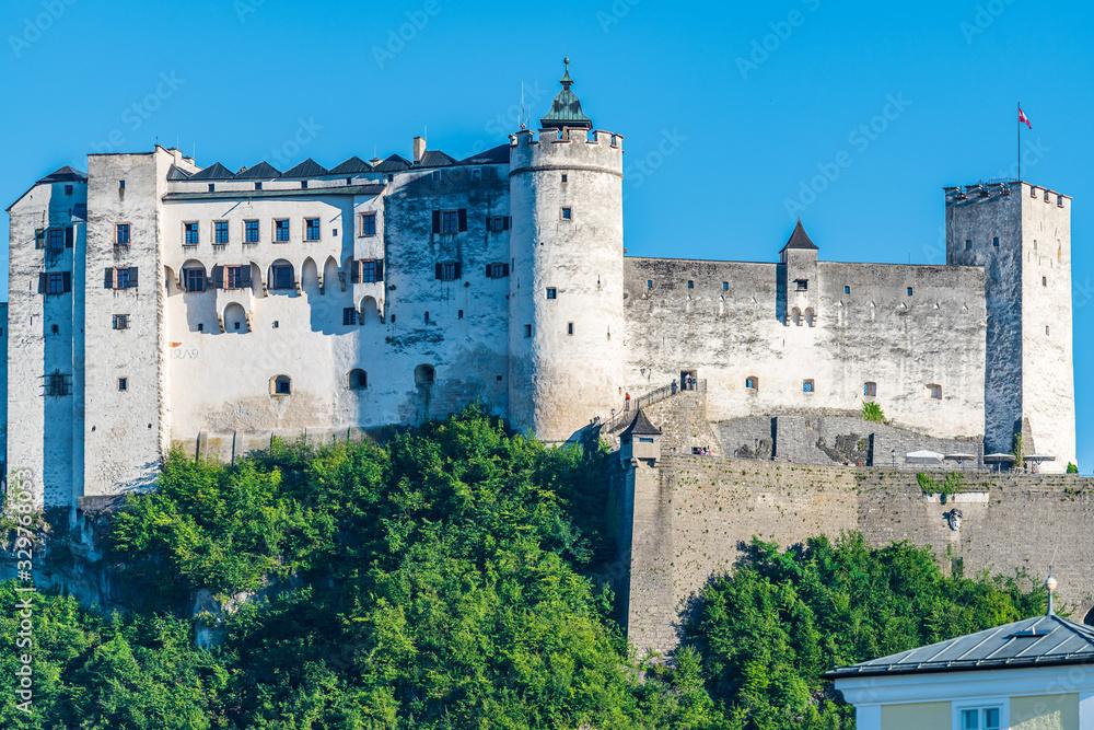 Fototapeta Hohensalzburg Fortress in Salzburg