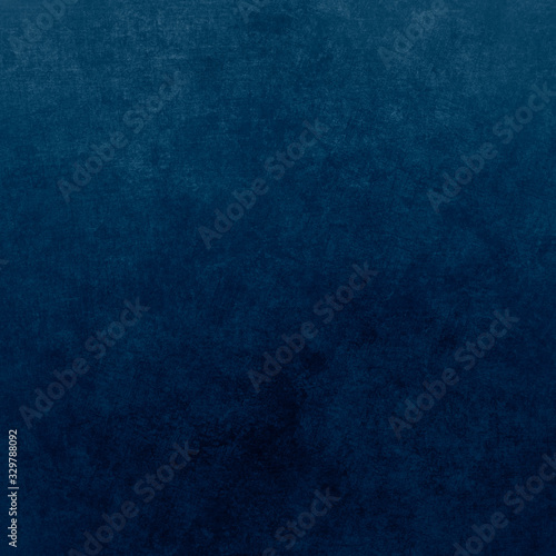 Fototapety, obrazy: Blue designed grunge texture. Vintage background with space for text or image