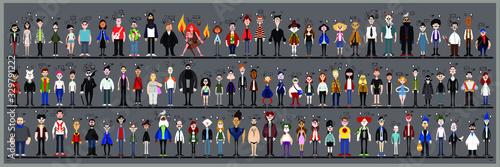 Fényképezés Personaggi e caricature serie 2