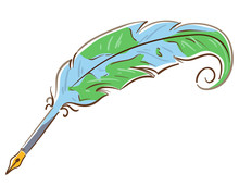 Quill Earth Illustration