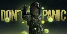 Don't Panic 3D Illustration Co...