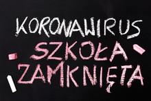 Koronawirus 2019-nCoV Napis Wy...