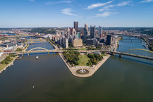 Cityscape Of Pittsburgh. Point...