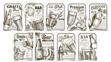 Beer Pub Collection Advertisin...