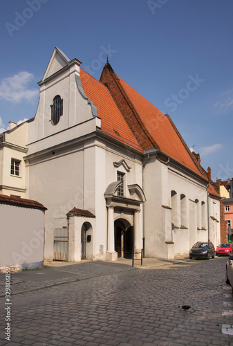 Church of Holy Virgin Mary Help of Christians in Poznan. Poland