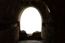 The Ancient Tunnel, Aged Const...
