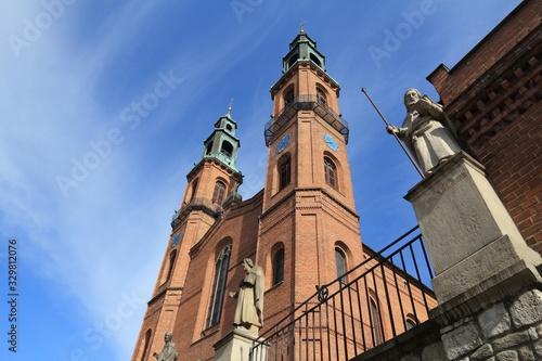 Obraz Piekary Slaskie basilica - fototapety do salonu