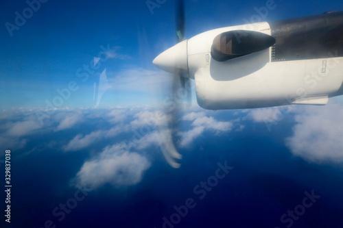 Photo Hélice d'avion sur Mahé, Seychelles