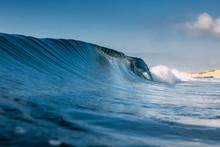 Ocean Ideal Wave In Ocean. Bre...