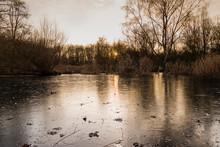 Frozen Pond, Small Frozen Lake...