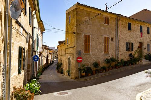 Cuadros en Lienzo Historische Altstadt von Alcúdia, Mallorca Spanien