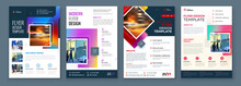 Flyer Template Layout Design. ...