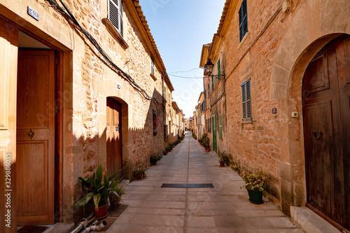Fotomural Historische Altstadt von Alcúdia, Mallorca Spanien