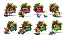 Easter Sale, Set Round Discoun...