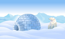 Igloo In The North. Housing In...