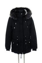 Black Jacket Female Warm On A ...