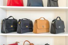 Vintage Bag On The White Shelf - Image
