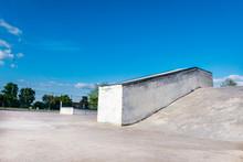 Empty Skate Park Generic Concr...