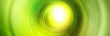 Beautiful Green Circular Blast  Abstract Background
