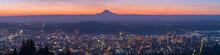 Panoramic Portland Oregon And ...